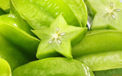 tropical fruit bali starfruit