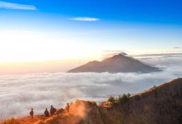 Mt Batur Bali trekking